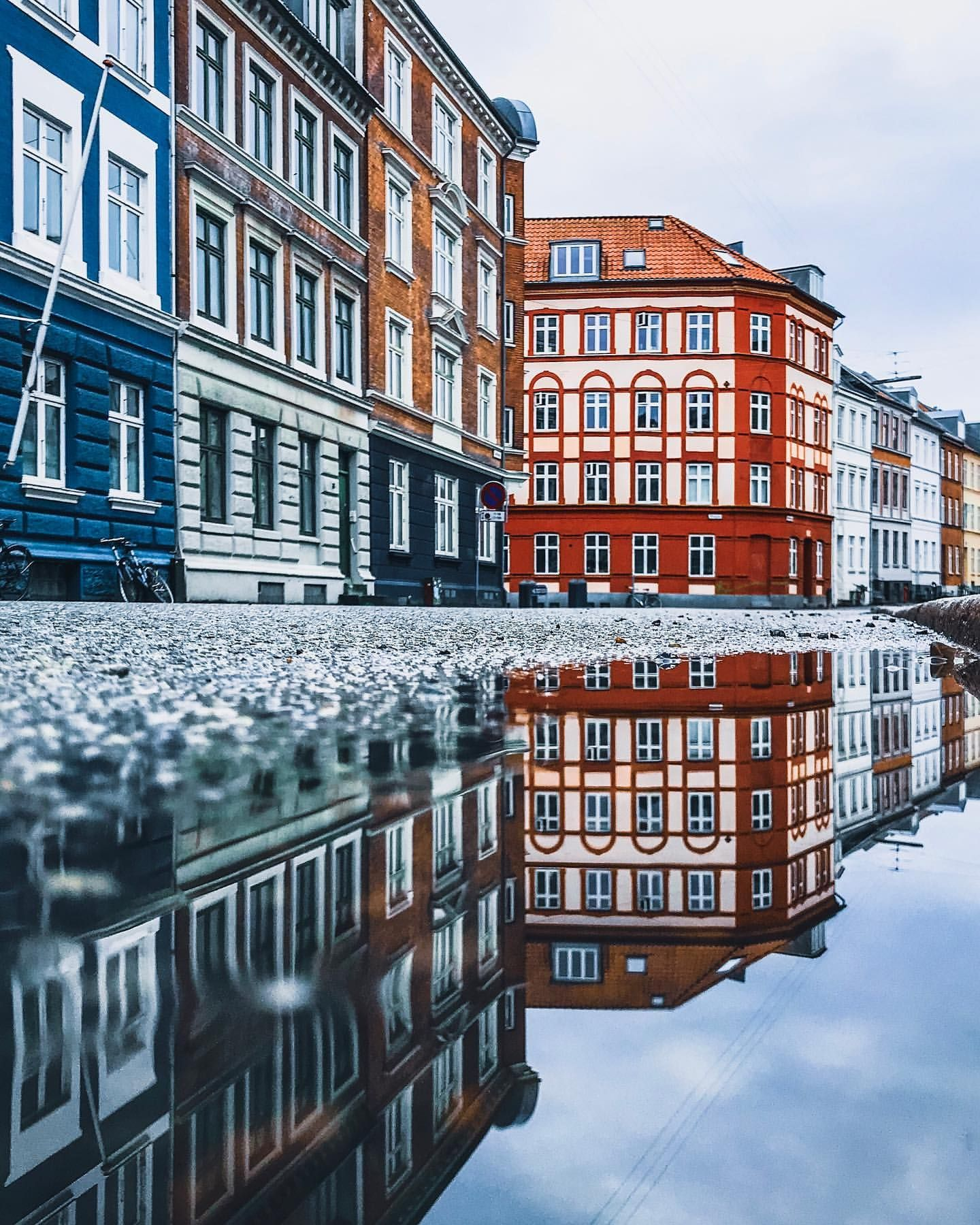 Colorful Architecture And Street Photography In Denmark By Adam Brosbol Street Photography Denmark Architecture Photo
