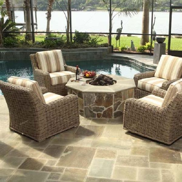 Laurent Chat Deep Seating Patio Furniture Outdoor Furniture
