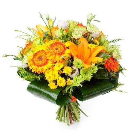 Ramo De Flores Levante Enviar Ramos De Flores A Domicilio Madrid Ramos De Flores Flores De Aniversario Flores