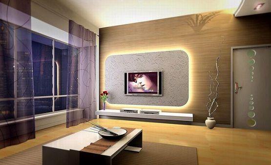 Innovative Lighting In Modern Living Room