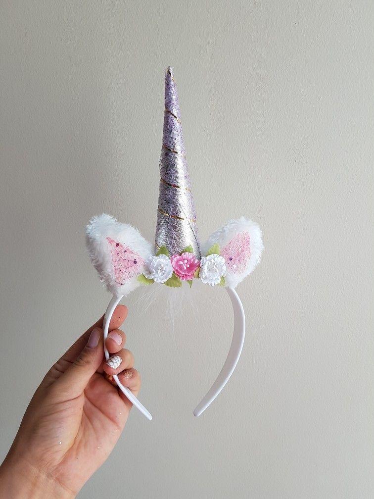 Diadema de unicornio diadema unicornio pinterest - Como hacer diademas ...