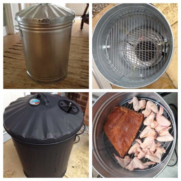 Garbage Can Charcoal Grills