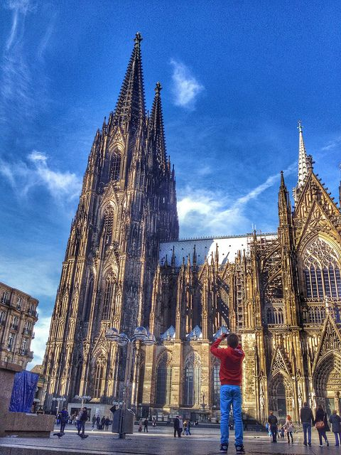 Ein Tag In Koln Cologne Cathedral Cathedral Landmarks