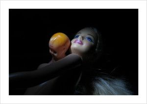 Martin Hodge limited edition Barbie photograph.