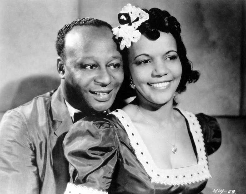Mantan Moreland and Marguerite Whitten in  King of  the Zombies, 1941