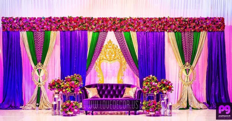 Indian Wedding Decor Garba Sangeet Mehndi Massachusetts New Hampshire Decorator Backdrop Mandap R Wedding Stage Decorations Mehndi Decor Wedding Deco