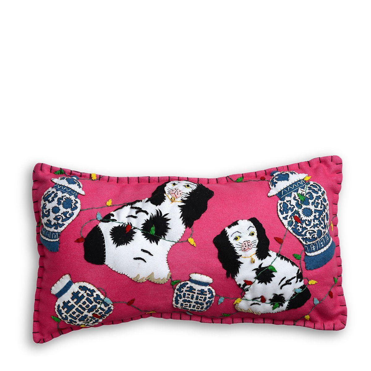 Southern Charm Christmas Pillow Furbish Studio