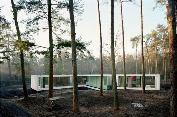 Modernes haus minimalistische architektur minimalistische