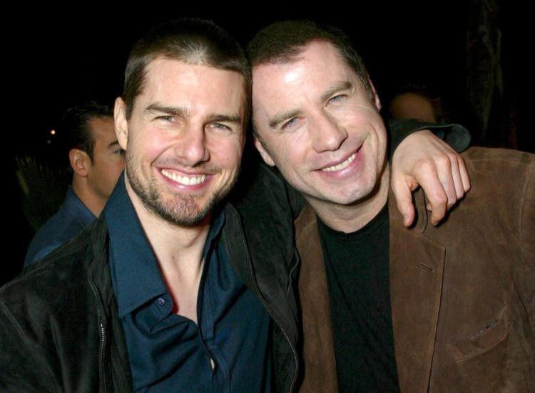 Tom cruise and david miscavige's super creepy scientology bromance