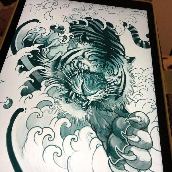 David Hoang On Instagram Back To Back Tiger Tattoo: Пин от пользователя Fil Vova на доске Японія
