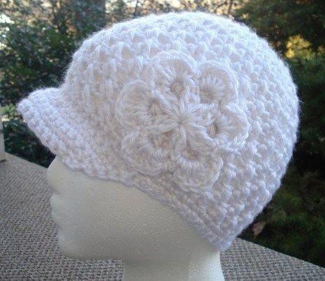 Free Crochet Newsboy Hat Chemo Hats Pinterest Crochet Newsboy