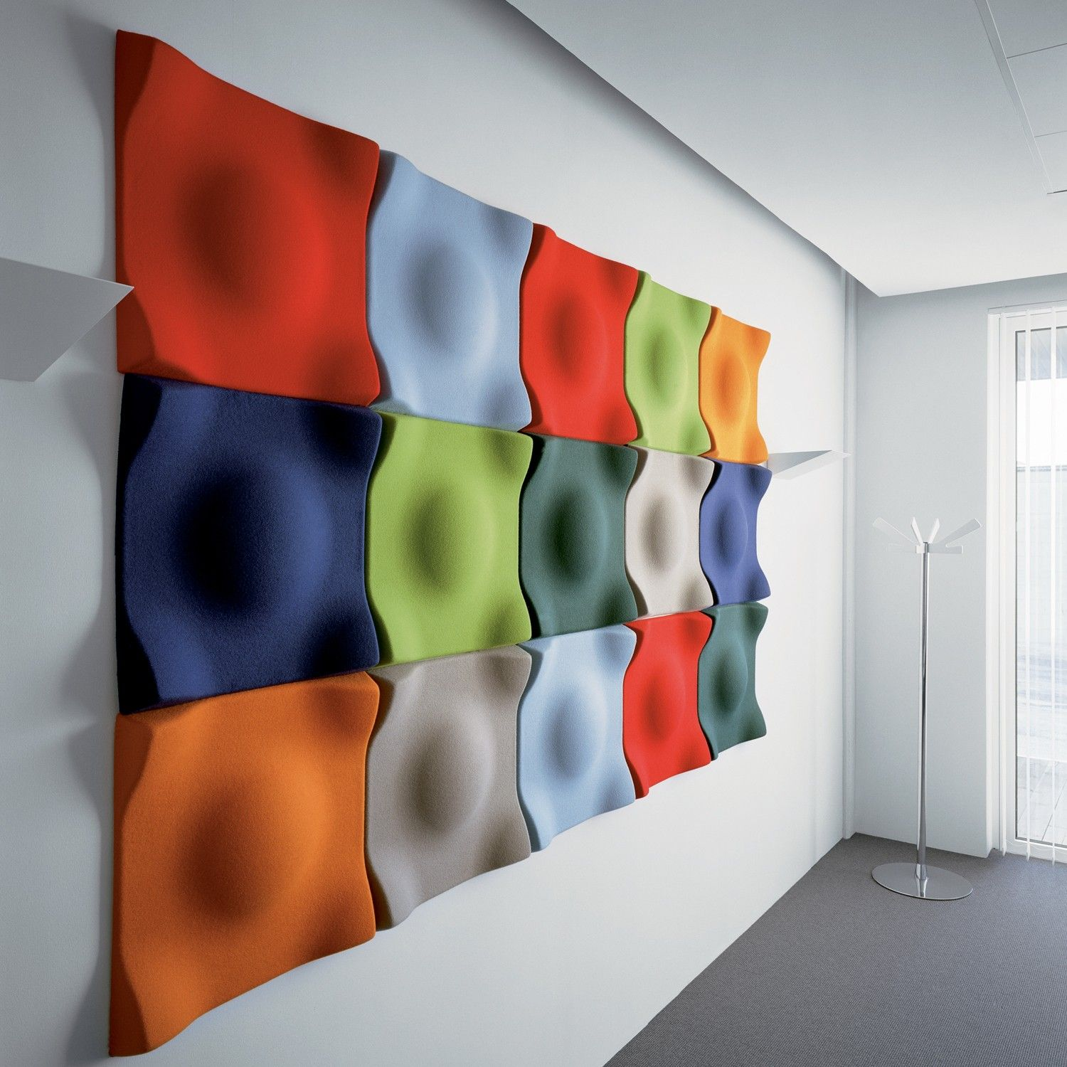 Swell Acoustic Wall Panels Concept Not This Actual Color Pallet Pantones
