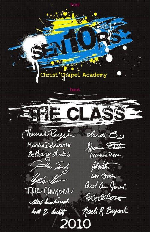 class of 2014 t shirts ideas | SENIOR CLASS T-SHIRTS -- CUSTOM CLASS ...