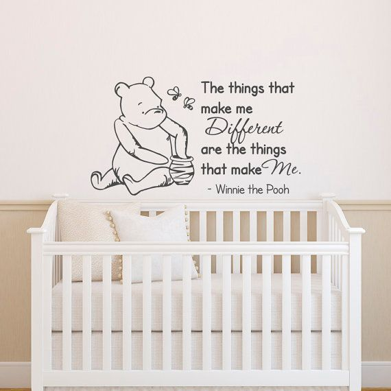Winnie The Pooh Wall Decal Quote The Things That Make Me