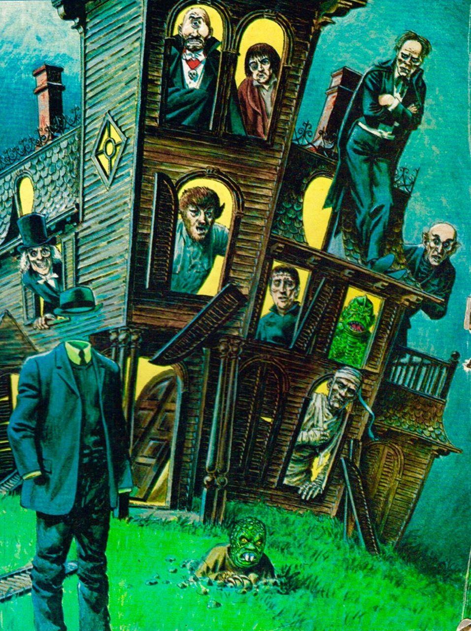 Swampthingy Classic Horror Horror Monsters Halloween Art