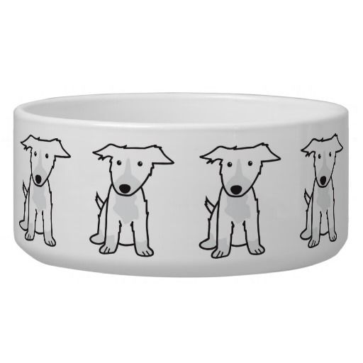 Border Collie Dog Cartoon Pet Food Bowls Dog Bowls Cartoon Dog