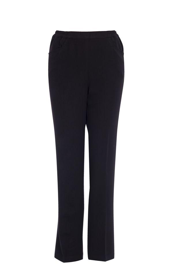 Pantalon à taille élastique.