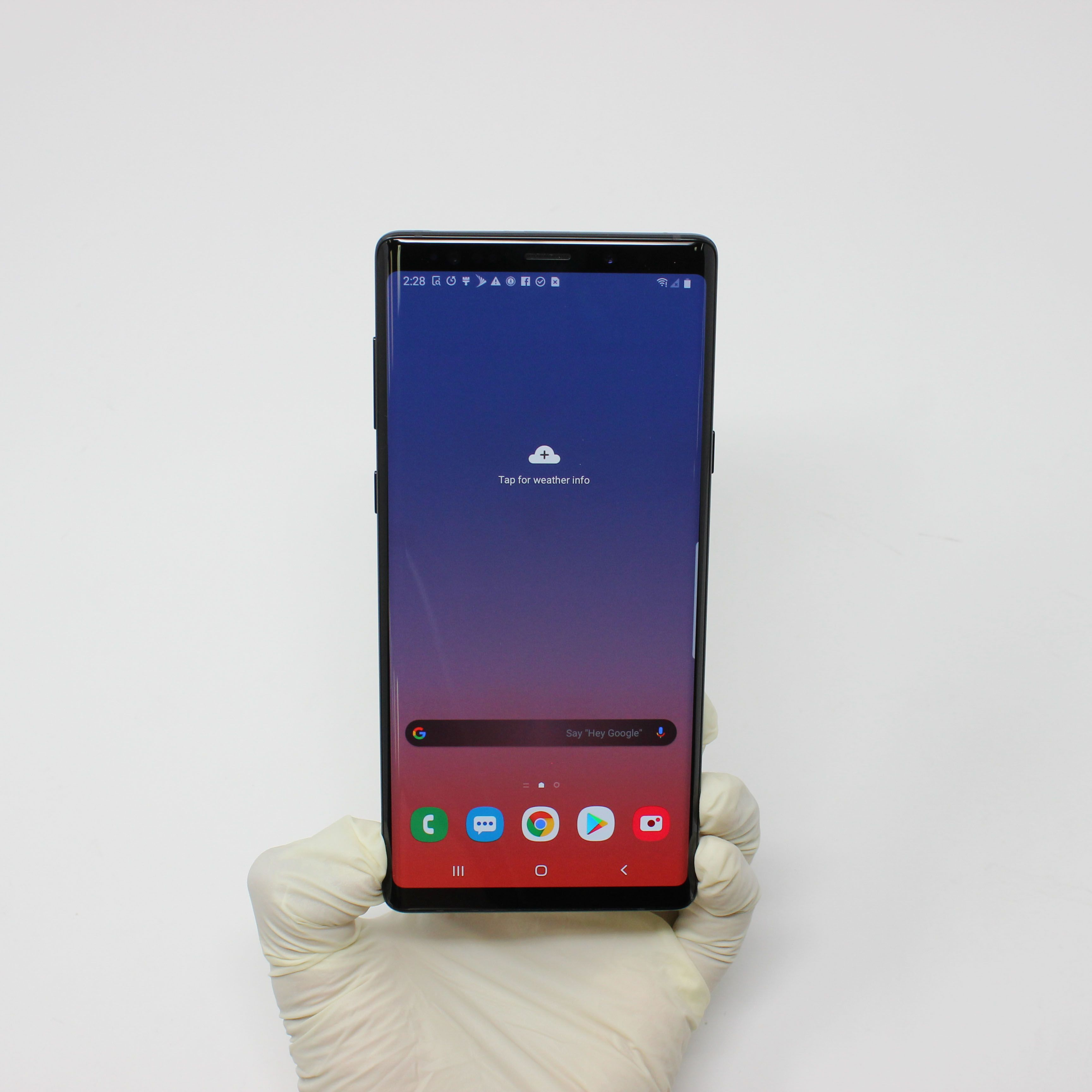 I am purchasing [Galaxy Note 9 128GB Midnight Black  Unlocked] on UpTr