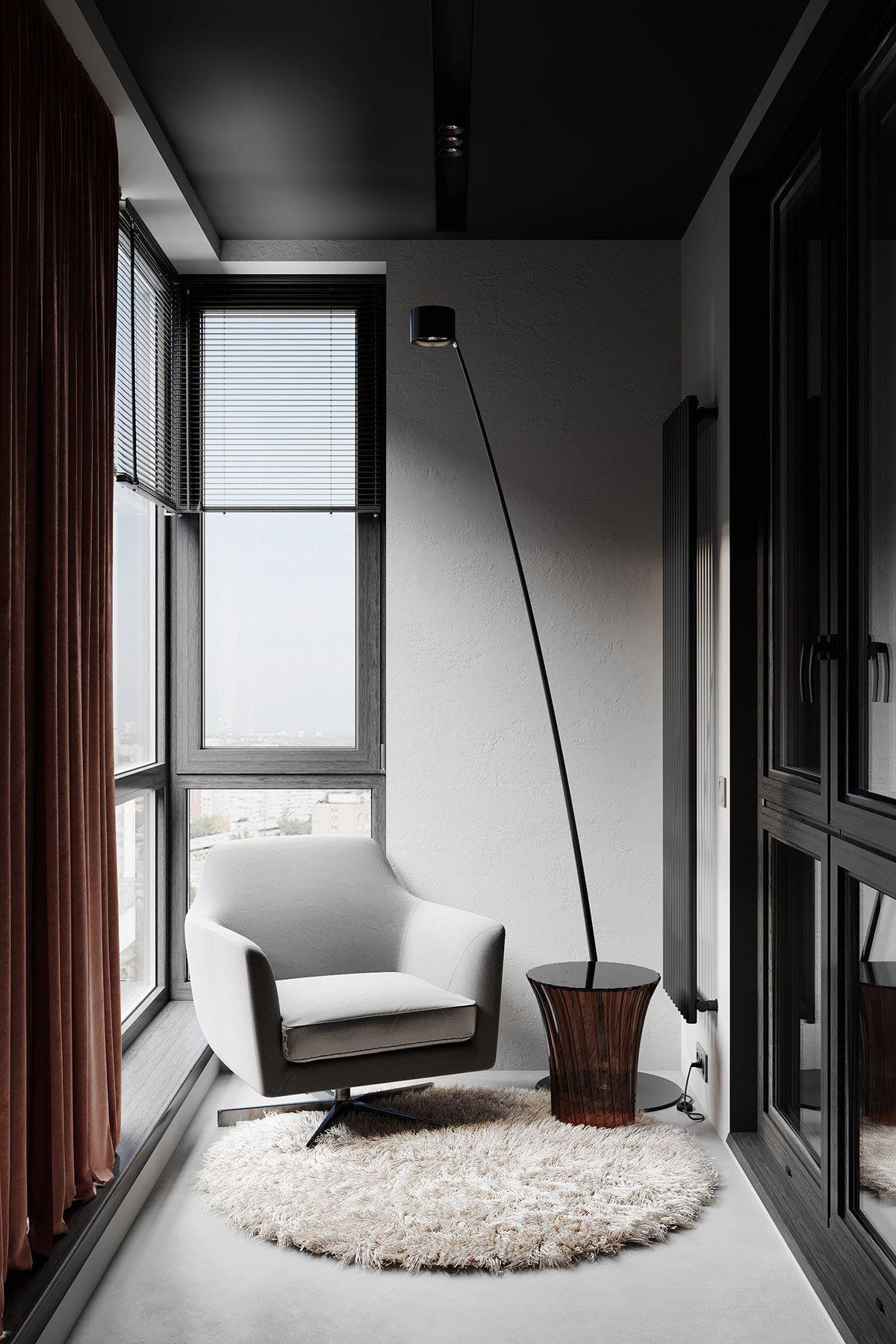 Modern Red And Grey Interiors With Japanese Influences Modern Japanese Interior Japanese Interior Modern Scandinavian Interior