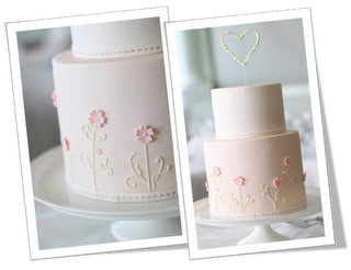 Just Baking: {Inspired by Hello Naomi} Pretty Pink 21st Birthday cake