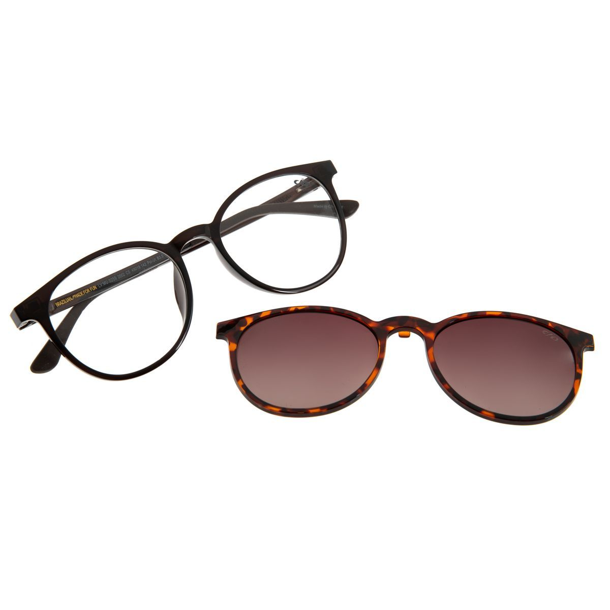 Armacao Para Oculos De Grau Feminino Chilli Beans Multi Redondo