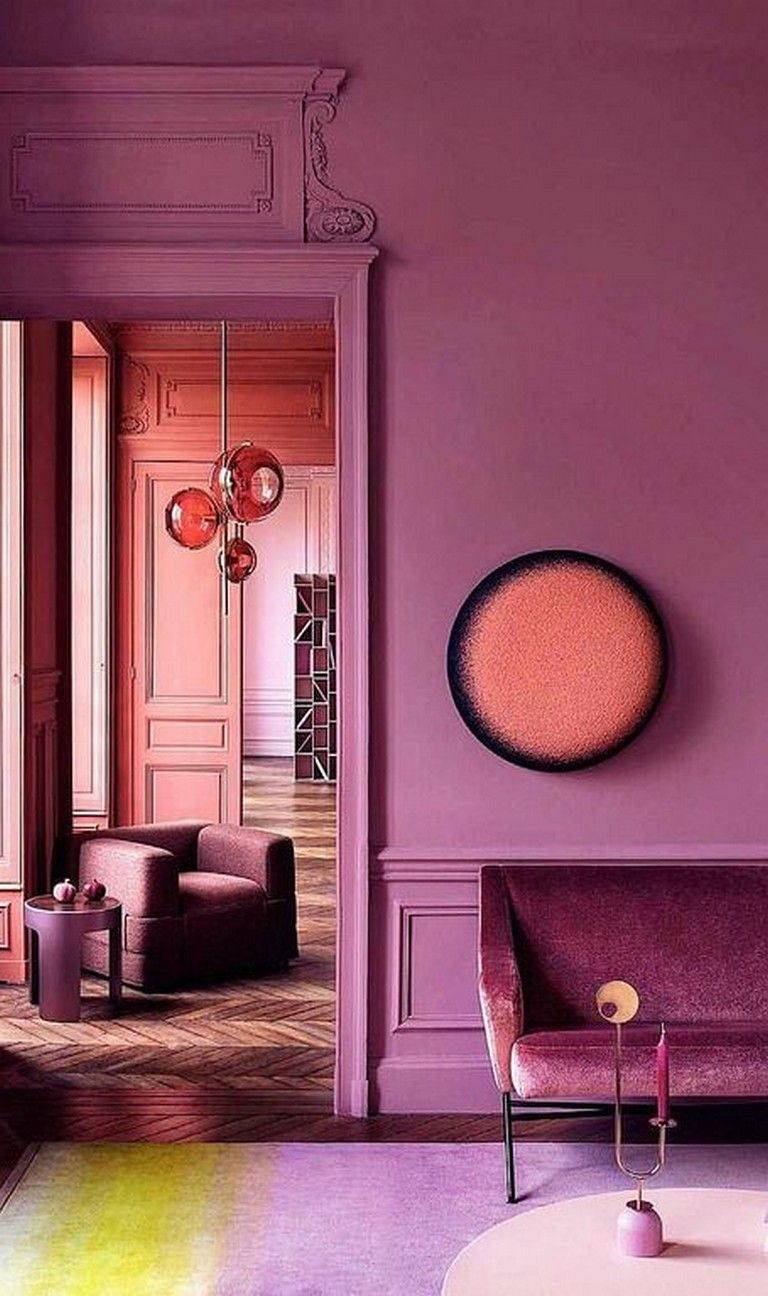 30 Gorgeous Color Harmony Interior Design To Set Your House Look