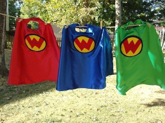 Custom Embroidered Superhero Cape By Kidkapers On Etsy 25 00 Superhero Capes Capes For Kids Superhero Birthday