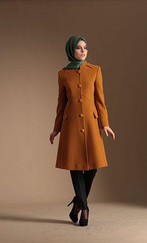 Urun R2203 Nihan Kaban Manto Kaban Clothes Coat All Fashion
