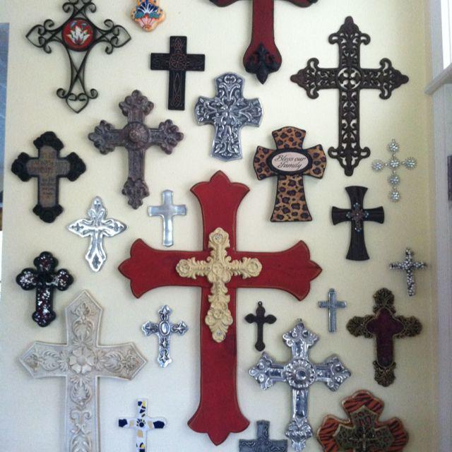 My cross wall random things that make me smile for Cross wall decor ideas