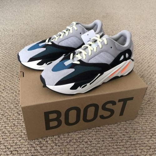 7fc9bb3ab Adidas Yeezy Wave Runner 700 Boost Kanye West Size 9 B75571
