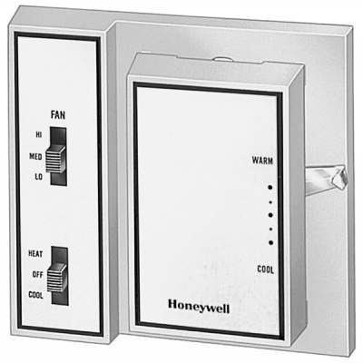 Fan Coil Thermostat Automatic Heating Cooling By Honeywell