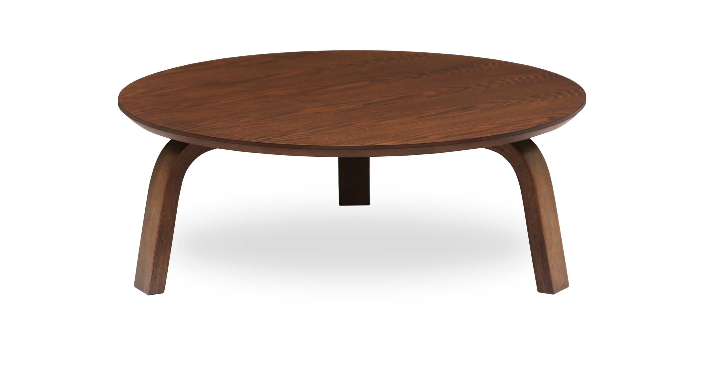 Nes Cocoa Wood Round Coffee Table Coffee Tables Bryght Modern Mid Cent Round Wood Coffee Table Round Wooden Coffee Table Mid Century Modern Coffee Table [ 1500 x 2890 Pixel ]