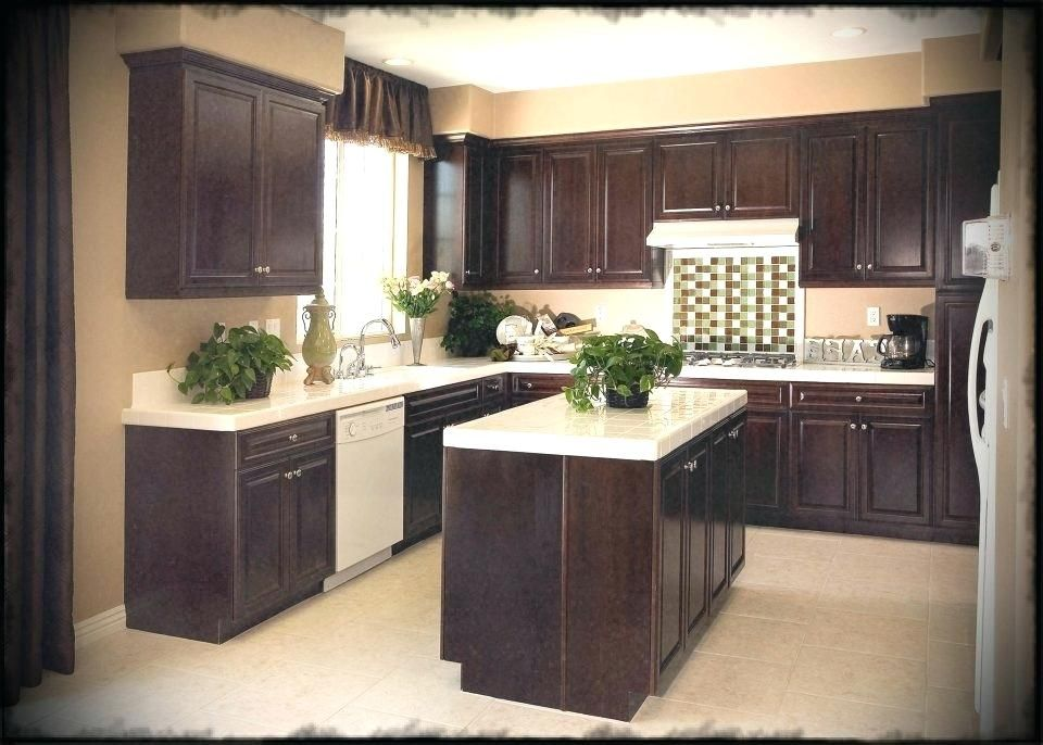 Best Of Best Color Paint For Kitchen With Dark Cabinets And Pics
