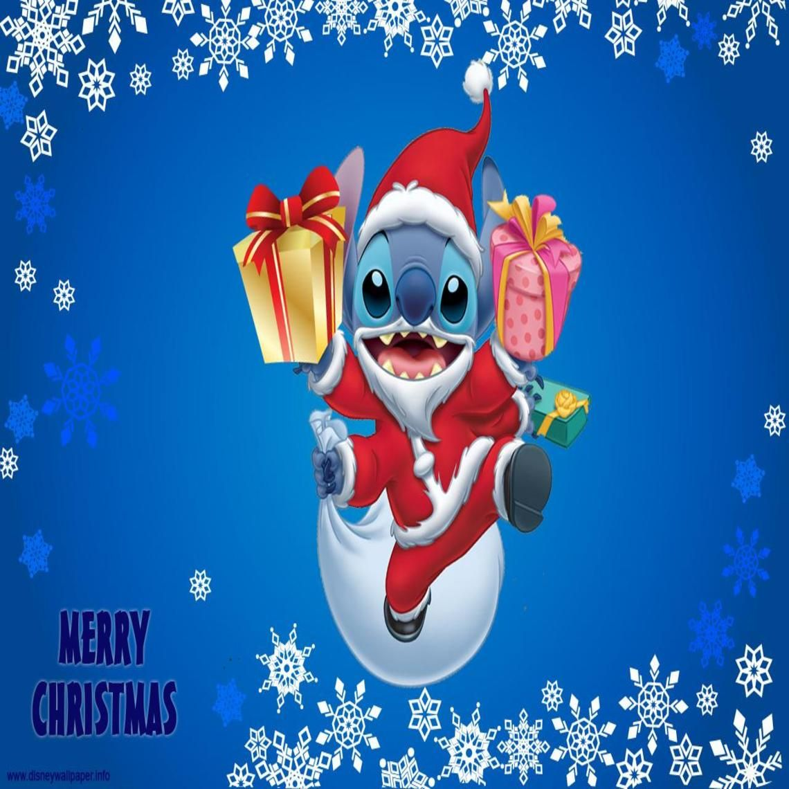 Lilo And Stitch Christmas Wallpapers Hd