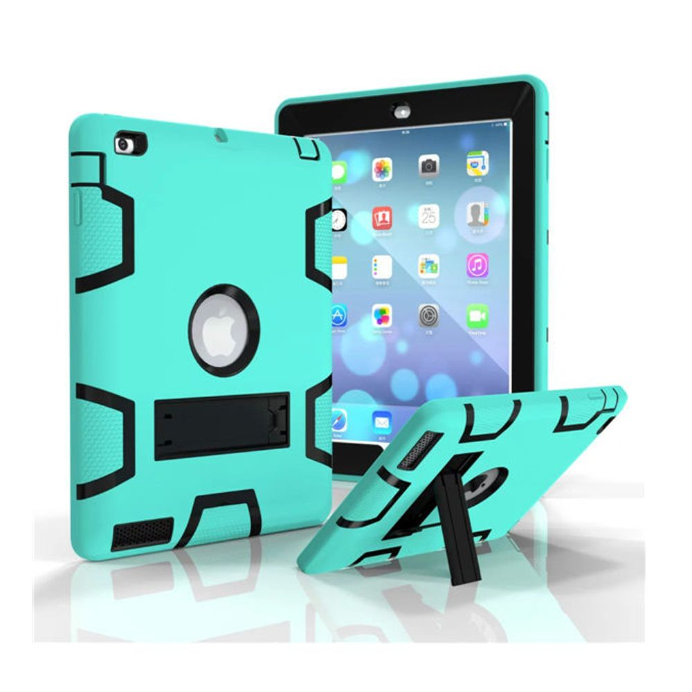 For Kids Safe Armor Shockproof Heavy Duty Silicon Pc Stand Back