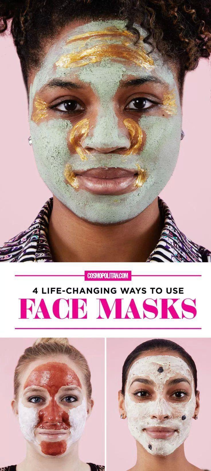 LifeChanging Ways to Use Face Masks  Skincare  Pinterest  Life