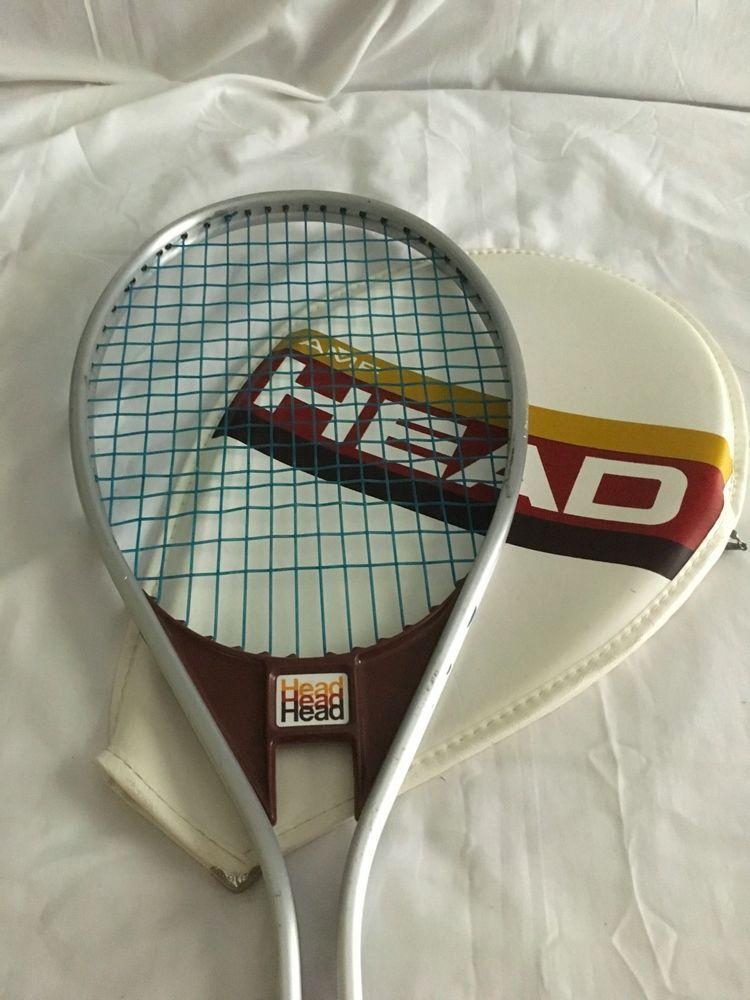 Head AMF Tennis Racquet Aluminum 964 Edge w/ Cover 4 1/2