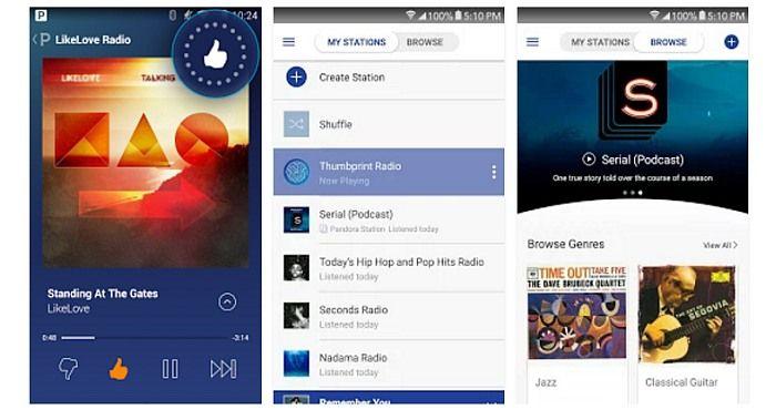 Download Pandora Radio App and enjoy Free Music