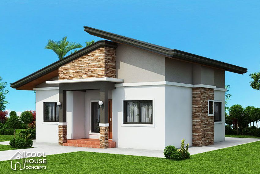 Ruben Model Is A Simple 3 Bedroom Bungalow House Design With Total Floor Area Bungalow House Design Simple Bungalow House Designs Modern Bungalow House Design