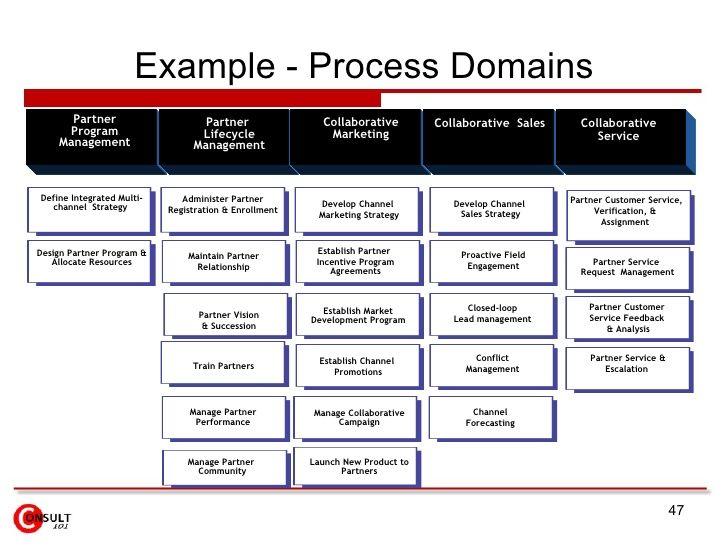 Example Process Domains Partner Program Management