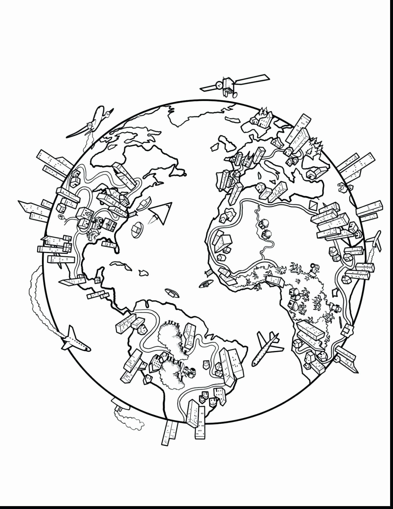 Pin Di Example Maps Coloring Pages