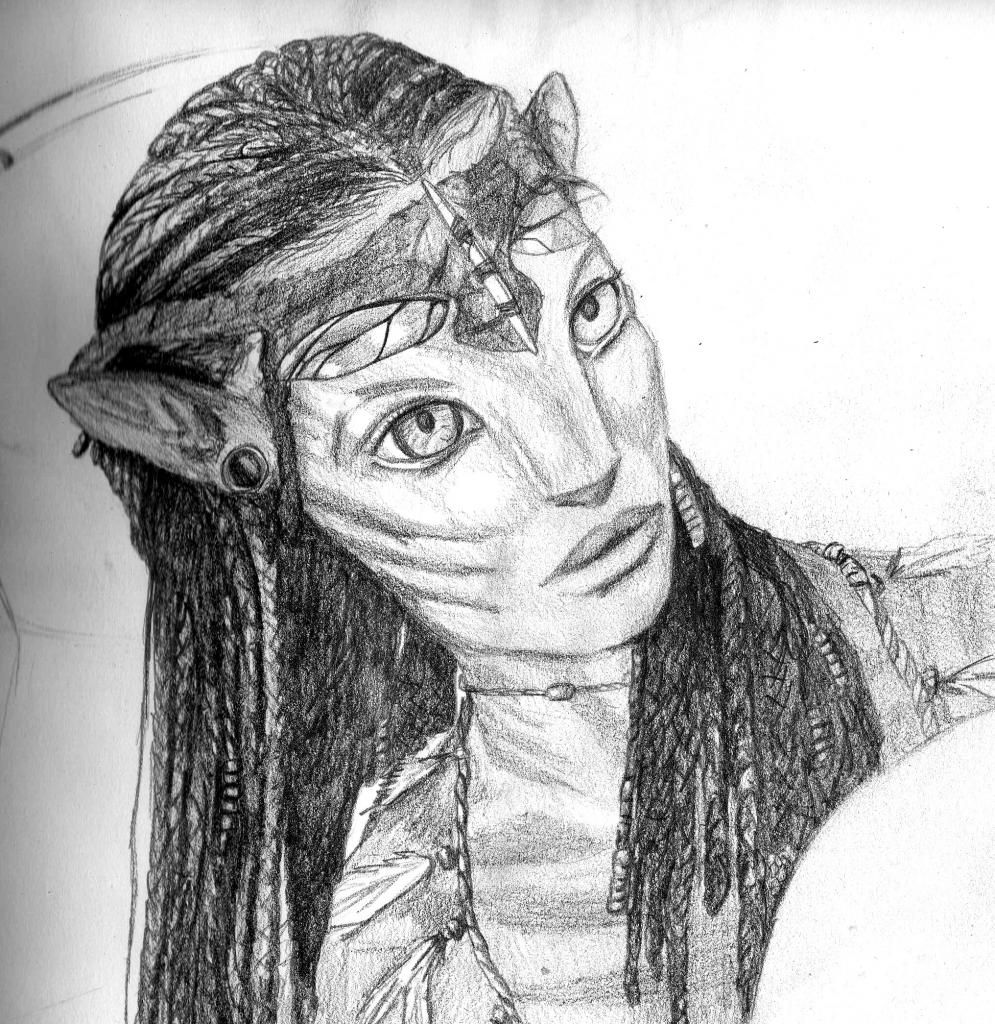 Avatar Movie Drawings: Sketches, Hair Styles