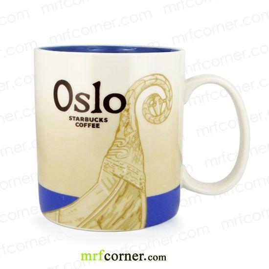 SM127 16oz Starbucks Norway Oslo Global Icon City Mug