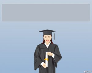 this is a free powerpoint template for graduation that you can use
