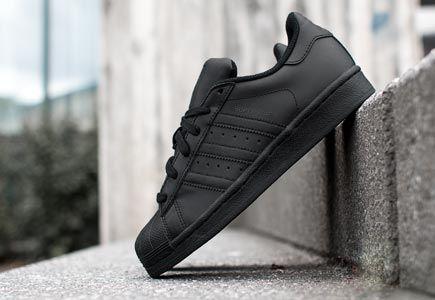 adidas superstar foundation j w schoenen zwart goud