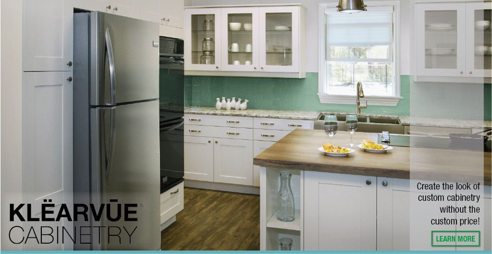Best Klearvue Cabinetry Create The Look Of Custom Cabinetry 400 x 300