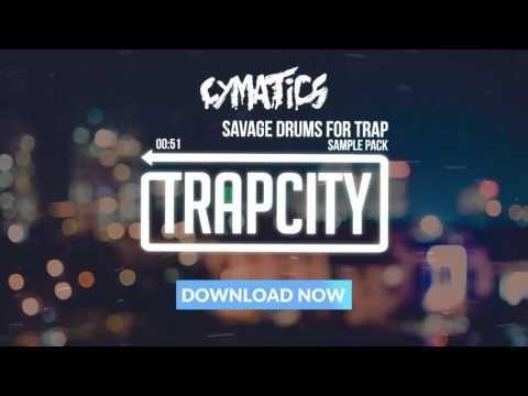 cymatics savage drums for trap free