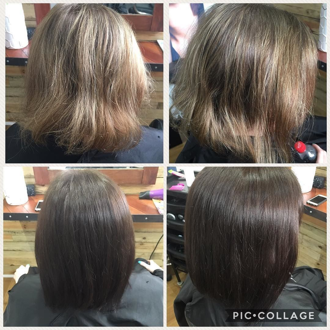 Beautiful Change From Light To Dark We Want To Make Your Salon Experience As Unique And Memorable As You Are Hairsty Hair Life Hair Studio Long Hair Styles