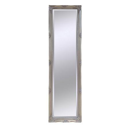 espejo con marco plateado de refljate x cm achica