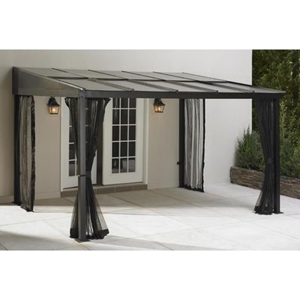 1429 99 10x12 Outdoor Gazebo Canopy Add A Room Patio Furniture Shade Deck Backyard Tent Cover